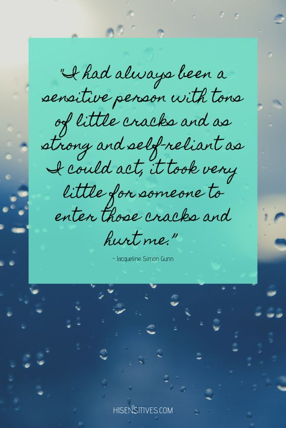 Quotes highly sensitive person